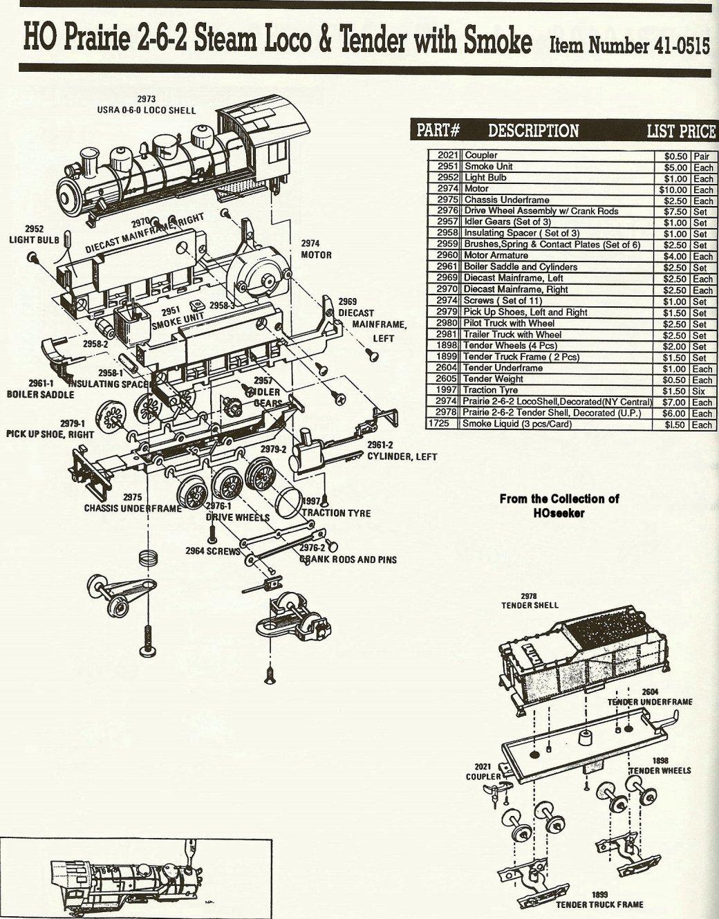 Bachmann ho 2 6 2 prairie model railroader magazine model