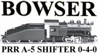 Bowser 0-4-0 A-5 Shifter Instructions