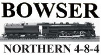 Bowser 4-8-4 Northern Instructions