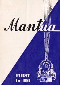 Mantua Catalog 1953