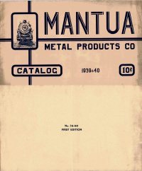 Mantua Catalog 1939 'First Edition'