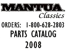 Mantua Parts List 2008
